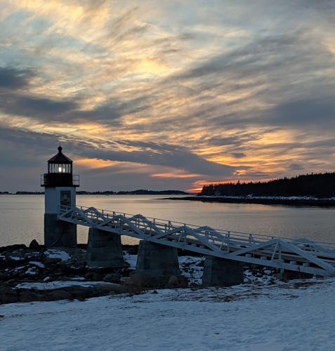 Marshall Point Light in Port Clyde ME