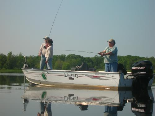 Maine Fly Fishing Guides - Leaning to Fly Fish