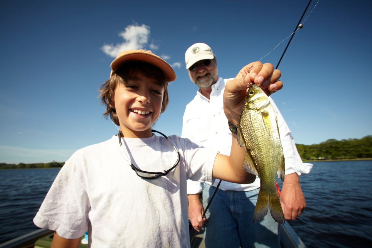 Family fishing trips maine outdoors for Fishing vacation packages